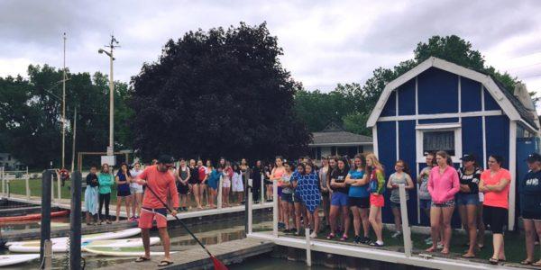 Paddle Board Lesson Lakeshore Windsor