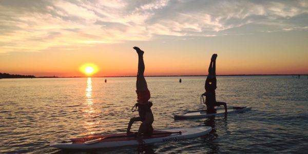 Sunset Paddle Lakeshore