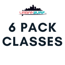 6 Pack of Classes Urban Surf