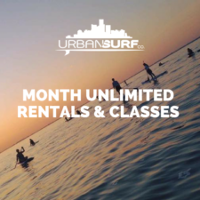 Month Unlimited Membership Urban Surf