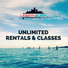 Urban Surf Unlimited Summer Membership